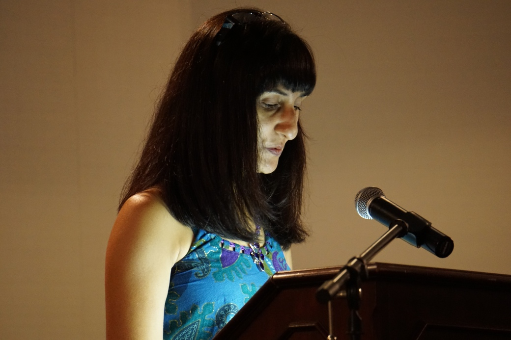 South Asian Reading - Me Looking Down 2