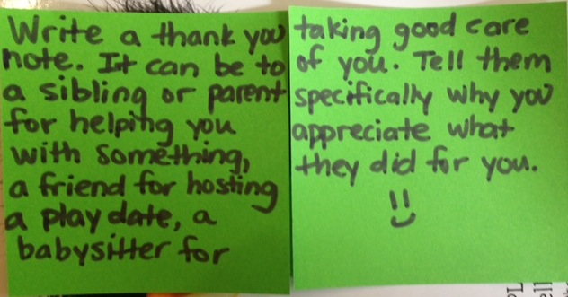 2013 SWP4K Thank You Note